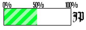 JP 50 procent